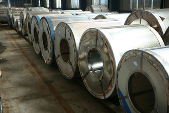 Cina Cold rolled zinc coated Hot Dipped Galvanized Steel Coils DX51D, Z275 kekuatan tinggi pemasok